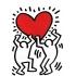 Keith Haring - Heart, 1988 image