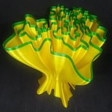 Wavey Coral Vase