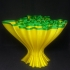 Wavey Coral Vase image