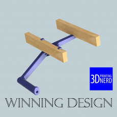 Winning Design - 3DPN Filament Holder