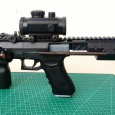 PDW kit for Glock 18C AEP (cm030 CYMA)