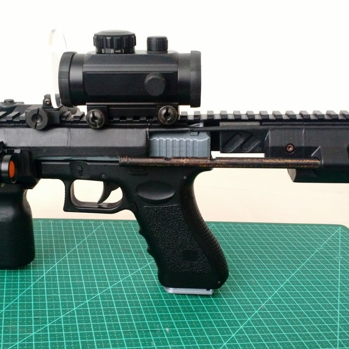 PDW kit for Glock 18C AEP (cm030 CYMA)