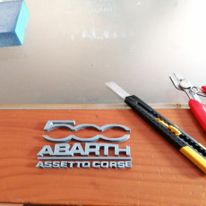 Picture of print of fiat abarth assetto corsa