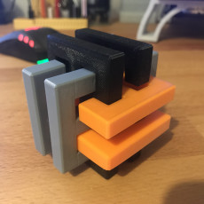 Picture of print of Gordian's Knot 3D Puzzle