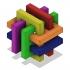 Gordian's Knot 3D Puzzle image