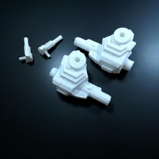 Picture of print of Mechwarrior Catapult Assembly Model warfare set