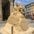 Sand sculpture of Tomáš Garrigue Masaryk image