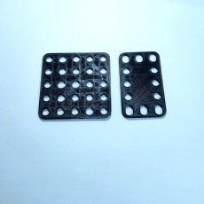 Picture of print of Meccano: Flexible plate N0102 & 188