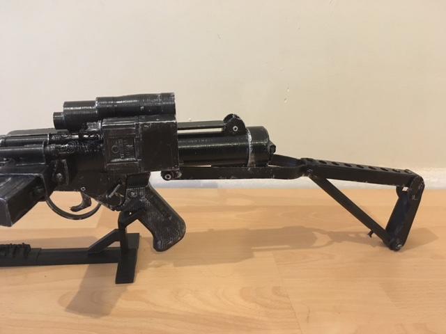 3D Printable Star Wars Storm Trooper Blastech E-11 Blaster