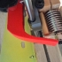 Extended blowout filamena for mounting at the rear of the carriage X axis for PRUSA i3 steel FRANKINSHTEIN. image
