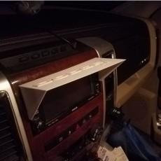 2011 -2018 Dodge Ram Radio Shield