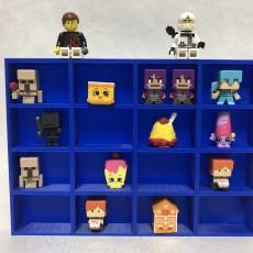 Minecraft & Shopkins Display Shelf