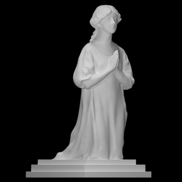 3D Printable Memorial to Violet Vaughan Morgan by Scan The World