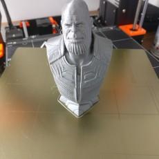 3D Printable Thanos (Infinity War) bust by David Östman