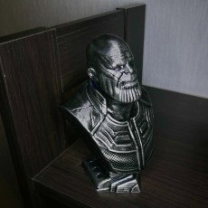 Picture of print of Thanos (Infinity War) bust