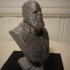 Thanos (Infinity War) bust print image