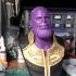 Thanos (Infinity War) bust print image
