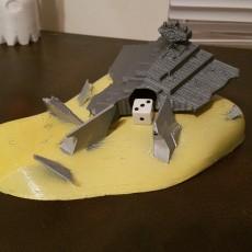 Star Destroyer Crash Dice Tower