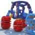 Backhoe Excavator - Clickaloo Play Set image