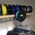 Spool Holder for Filament Shelf (Daryl L's Prints) image