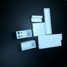 Picture of print of Modular desktop organizer