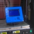 LCD 12864 holder on adjustable stand image