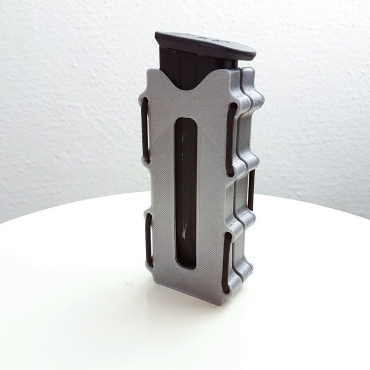 3D Printable Magazine holster for Walther PPQ magazines (airsoft) by