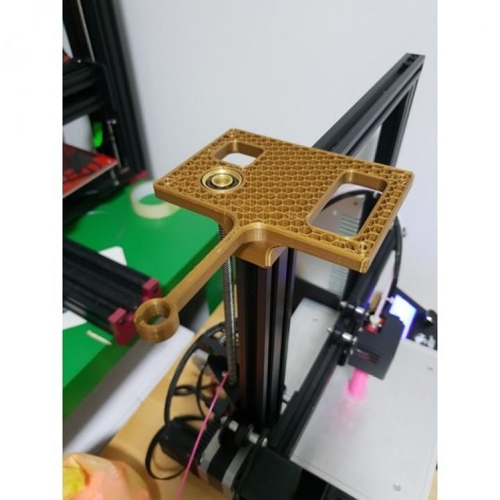 3d Printable Ender 3 Adjustable Spool Holder Filament
