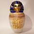 Ancient Egyptian Canopic Jar: Imsety image