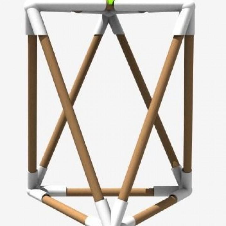 Stool - 3D Printable Life Size Furniture