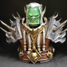 Picture of print of High Overlord Varok Saurfang