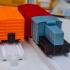 Boxcar for wood style Toy Tracks image