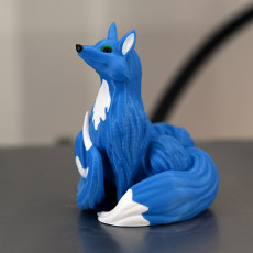 Picture of print of Blink Fox (multi-material remix)
