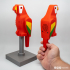 Human Scale Working BRICK Parrot image