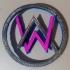 Alan Walker Pendant or Keychain image