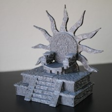 Picture of print of Sun Throne