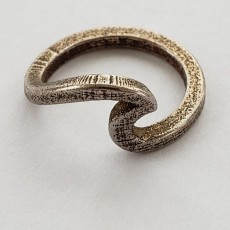 Wave ring - Size 5 and 6