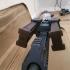 Airsoft- AR-57 Dual P90 Magazine feeding system image