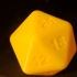 Simple 20 Sided Die image