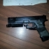 Tokio Marui Glock 17 Laser holder Kompensator image