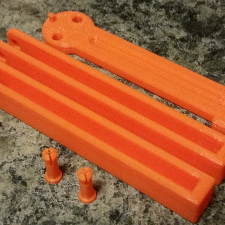 3D Printable Heavy Balisong Trainer (B-Knife Trainer) by