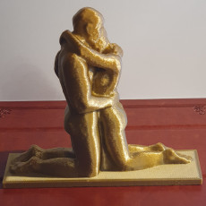 Picture of print of Kneeling lovers