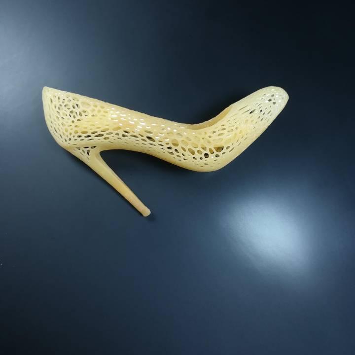 Shoes design Voronoi