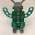 Clickaloo Falling Robot Phone Holder primary image