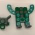Clickaloo Falling Robot Phone Holder image
