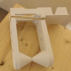 sliding spool holder