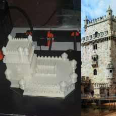 Picture of print of Belem Tower, Lisbon - Portugal
