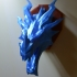Skyrim ice Dragon wall Trophy image