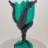 Dragon Wine Glass (multi-material remix) print image