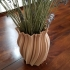 Wooden Random Circle Vase image